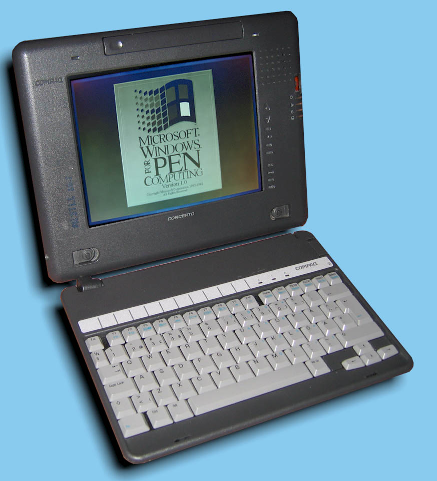 Compaq tc1000 tablet pc