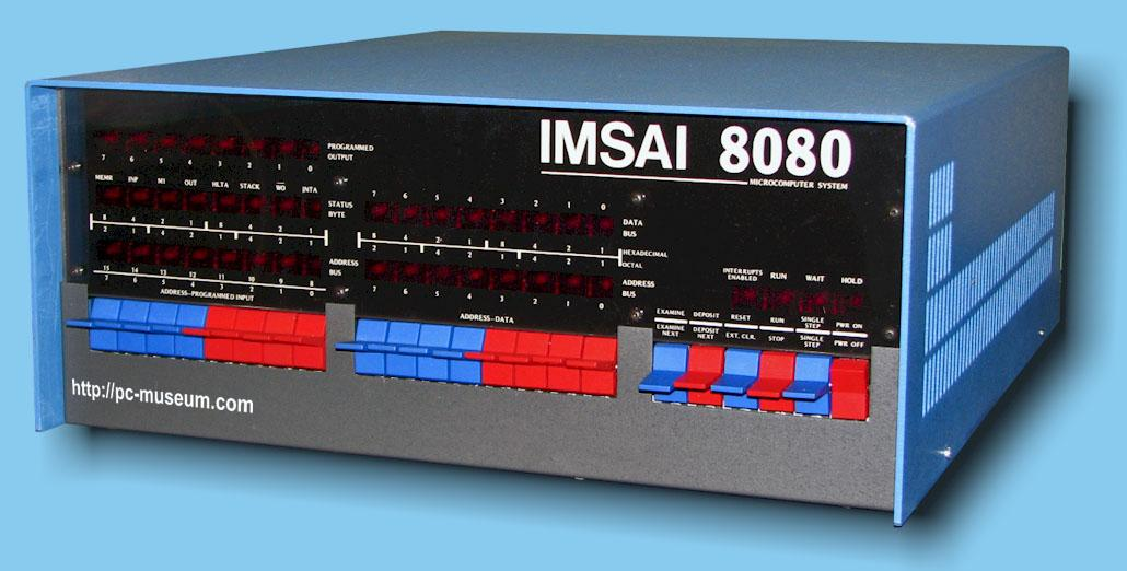 Rune's PC-Museum - IMSAI 8080